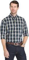 Izod Holiday Tartan Plaid Long Sleeve Shirt