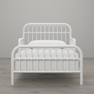 Little Seeds Monarch Hill Ivy Toddler Bed Bed Frame Color: White