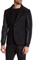 Antony Morato Contrast Panel Slim Fit Blazer