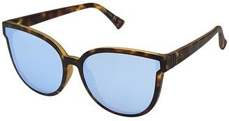 Von Zipper VonZipper Fairchild (Tort Satin/Sky Chrome) Athletic Performance Sport Sunglasses