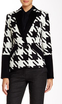 L.A.M.B. Large Houndstooth Blazer