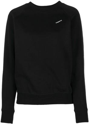 Coperni Logo Print Sweatshirt
