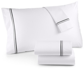 Hotel Collection 525 Thread Count Egyptian Cotton Embroidered Twin Sheet Set
