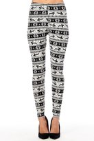 Always Womens Ladies Comfy Holiday Christmas Ugly Santa Leggings Pants Xmas