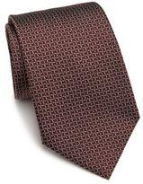Armani Collezioni Diamond Silk Tie