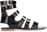 Laurence Dacade Nina flat sandals - women - Leather/Patent Leather - 36