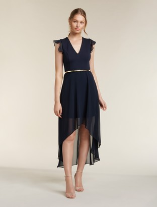 Forever New Hope Two-in-One Maxi Dress - Navy - 4