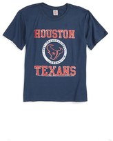 Junk Food Clothing Boy's Kick Off Houston Texans T-Shirt