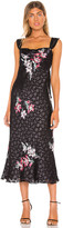Rebecca Taylor Sleeveless Noha Floral Dress
