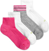 Hue Women's 4-Pk. Air Cushion Quarter-Top Socks