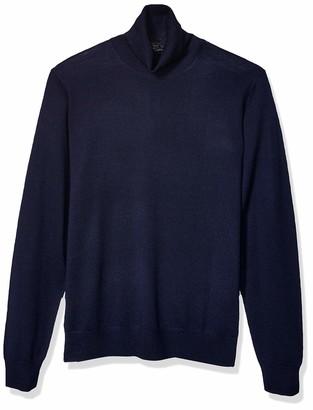 Goodthreads Merino Wool Turtleneck Sweater Navy L