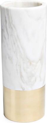 Michael Verheyden tall Duet marble vase