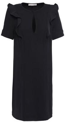 MICHAEL Michael Kors Ruffle-trimmed Cady Mini Dress