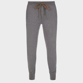 Paul Smith Men's Grey Jersey Cotton Lounge Pants