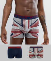 Ben Sherman 3 Pack Union Jack Trunk