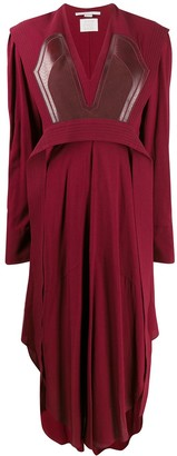 Stella McCartney Sable crepe midi-dress