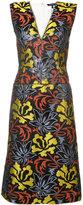 Derek Lam V-neck fitted dress