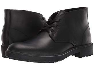 Frye And Co. AND CO. Jackson Chukka (Black Vintage Pull Up Leather) Men's Boots