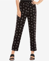 Vince Camuto Printed Pull-On Pants