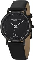Stuhrling Original Men's 734G.03 Classic Ascot Castorra Elite Swiss Quartz Ultra Slim Date Watch