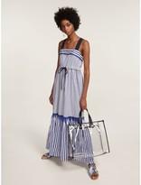 Tommy Hilfiger Pure Cotton Striped Tie Maxi Dress