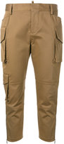 DSQUARED2 skinny cropped cargo pants