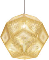 Tom Dixon Etch Pendant Light Brass 50cm