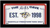 """Steiner Sports Nashville Predators 10"""" x 20"""" Kids Cave Sign"""