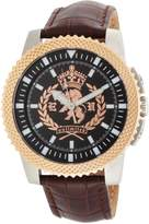 Ecko Unlimited Men's The Collegiate 3-Hand Movement Dial Watch E11596G1