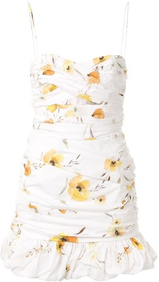 Bec & Bridge Colette floral mini dress