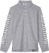 Moschino Long-sleeved polo top 4-14 years