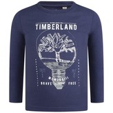Timberland TimberlandBoys Navy Light Bulb Logo Top