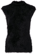 Marni fuzzy knitted tank top