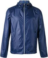fe-fe reversible hooded jacket - unisex - Nylon - M
