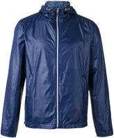 fe-fe reversible hooded jacket