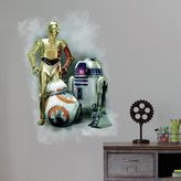 Star Wars Star WarsTM The Force Awakens Peel and Stick Giant Wall Decal