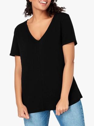 Live Unlimited Curve Slub T-Shirt, Black