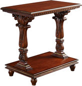 One Kings Lane Felicity Oak Side Table, Cherry
