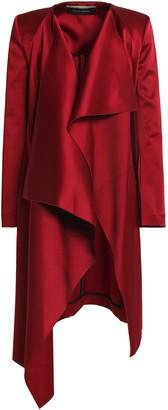 Roland Mouret Draped Satin-crepe Jacket