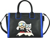 Karl Lagerfeld & Choupette Mountain Holiday tote