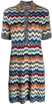 Missoni Chevron Pattern Knitted Dress