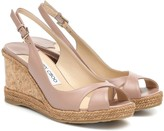Jimmy Choo Amely 80 platform wedge sandals