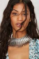 Factory Tucker Statement Necklace - Silver