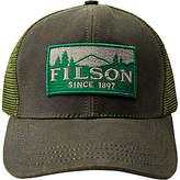 Filson Logger Mesh Baseball Cap, One Size, Green