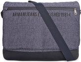 Armani Jeans Men's Indigo Messenger Bag