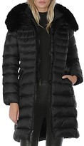 Thumbnail for your product : Dawn Levy Milly Shearling Trim Puffer Coat