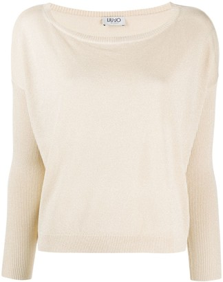 Liu Jo Ribbed Panel Jumper