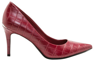 Calvin Klein Gayle Barn Red Heeled Shoes