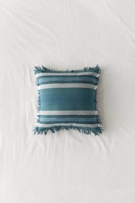 Octavia Woven Stripe Throw Pillow