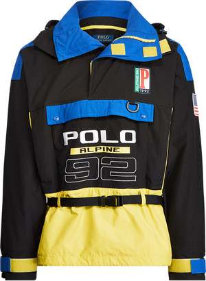 Ralph Lauren Colour-Blocked Graphic Jacket